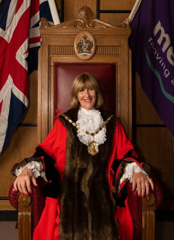 The Mayor of Merton for 2020/21, Councillor Sally Kenny