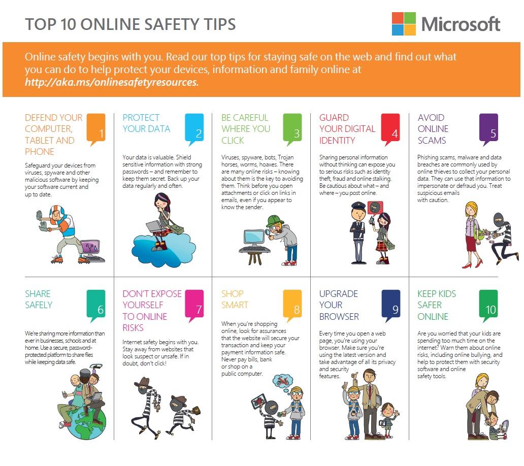 Safer Internet Day Top 10 Online Safety Tips
