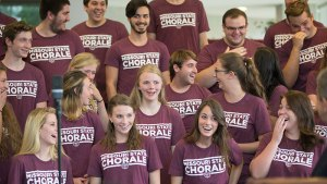 Now they belong: Chorale set to perform original work at presidential inauguration