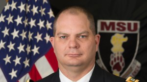 U.S. military honors late military science faculty member