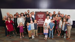 McQueary family makes 'transformational' gift to Missouri State