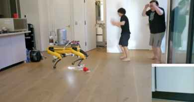 Michael Reeves Made a Boston Dynamics Spot Robot Dog Pee Beer