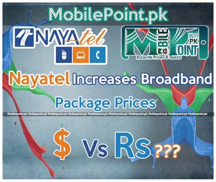 Nayatel increases broadband packages rate