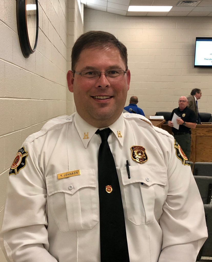 Loganville Fire Chief Carl Morrow resigns, Capt  Tim Johnson