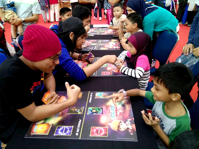 BoBoiBoy Galaxy Card™ Battle at 'Monsta Galaxy 2017' in Alamanda, Putrajaya