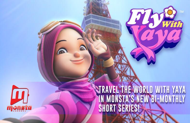 Join Yaya's adventures across the world in Fly With Yaya!
