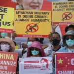 China Warns West Over Myanmar Coup, 'Interference'