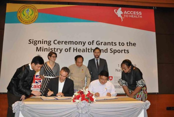 Access to Health Fund Support Myanmar Healthcare Development