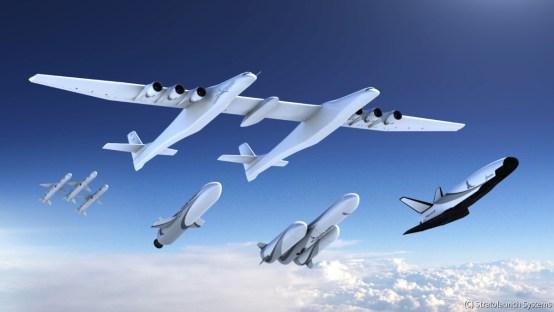 ストラトローンチの巨大飛行機