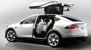 The Tesla Model X SUV arrives this September