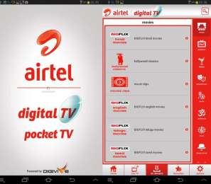 Airtel TV brings TV to your Mobile Phones