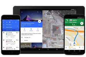 Google Maps for Android upgraded to work offline