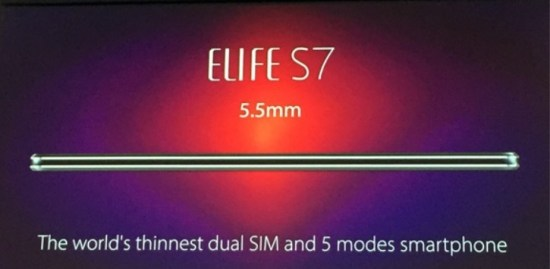 Gionee Elife S8 to be launched at MWC next month Image 2 Naija Tech Guide