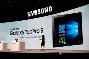 Samsung Galaxy Tab Pro S With Windows 10 launched