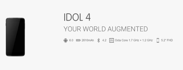 Alcatel OneTouch Idol 4 and 4S leak_complete specs revealed Image 2 Naija Tech Guide