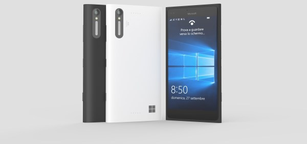 Microsoft Lumia 850 with 5,4-inch display,Iris scanner surfaces in live images Image 2 Naija Tech Guide