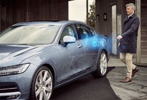 Volvo cars to stop using keys from 2017