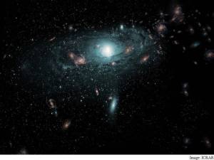 Hidden galaxies discovered behind Milky Way galaxy