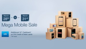 Amazon launches its Mega Mobile Sale