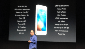 Apple iPhone SE outs for $399