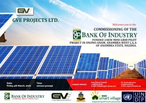 BoI Nigeria launches 24Kw solar power project in Anambra