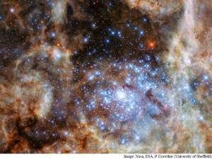 Hubble Space Telescope discovers 9 new Monster Stars