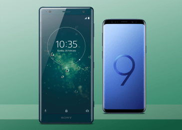Xperia XZ2 vs Galaxy S9/ S9+: Special Features