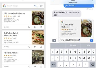 Google updates Search app for iOS, includes iMessage support, 'drag and drop' and more