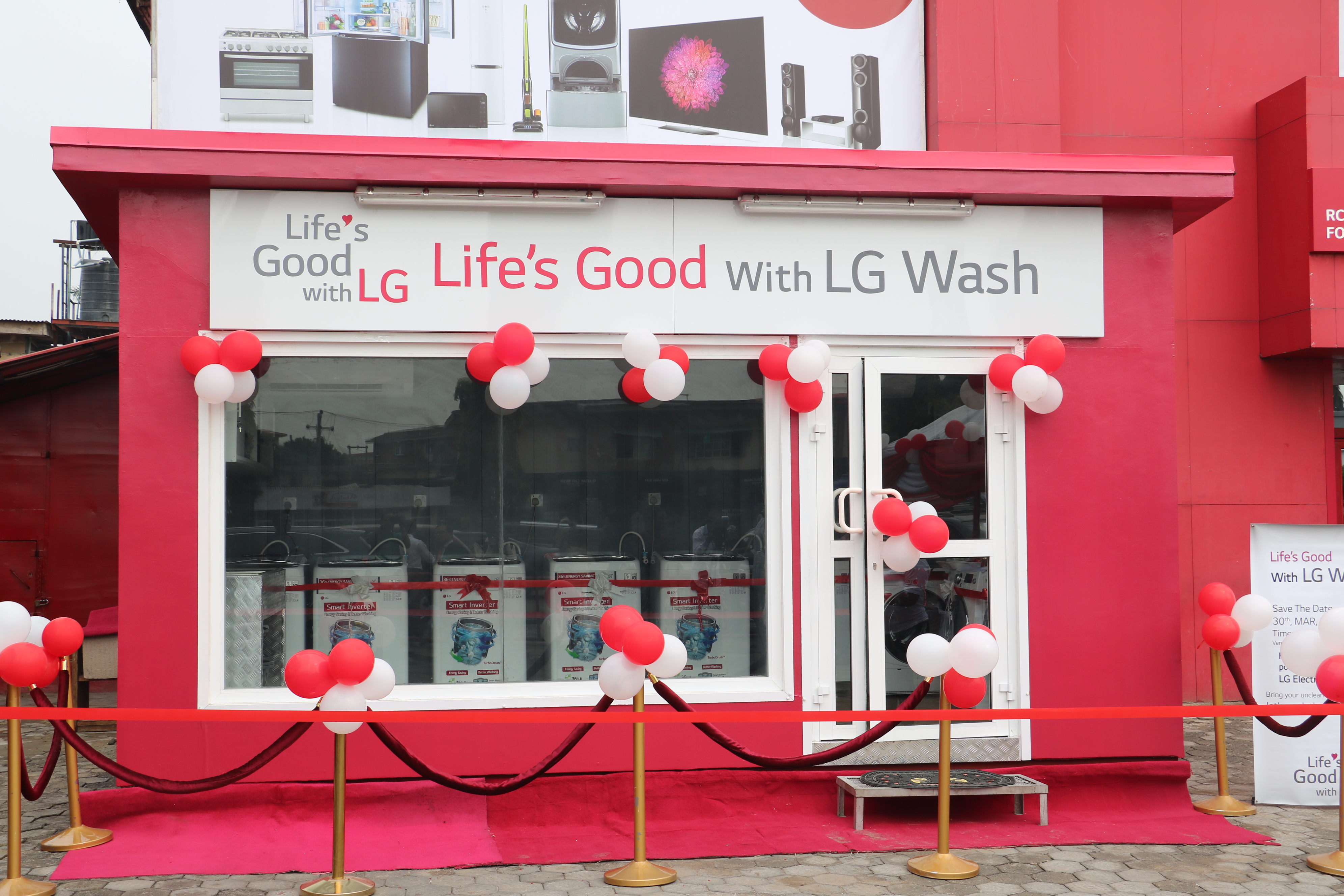 Lg Electronics Provides Free Laundry Service To Ogba Community In