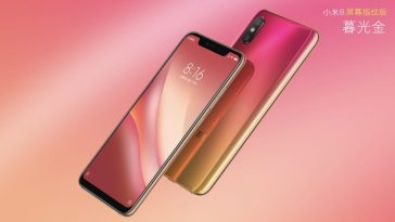 Xiaomi launches the Mi 8 Pro with In-Screen fingerprint sensor