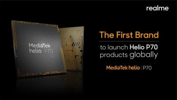 Realme gearing up to release the first-ever MediaTek Helio P70 Smartphone