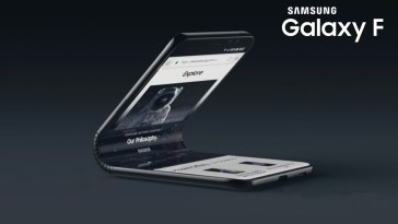 Samsung Galaxy F Foldable Smartphone Surfaces Concept Video