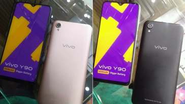 Vivo Y90 leaks heavily ahead of an imminent launch