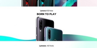 Lenovo confirms September 5 event for K10 Note and A6 Note