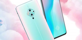 The vivo S5 poses for the camera, reveals stunning rear and front panel designs