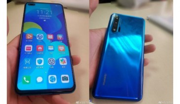 Huawei Nova 6 5G official images leak ahead of Dec 6 launch