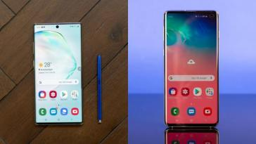 Samsung pushes stable Android 10 update to Galaxy S10 in the US, updates some Note 10 units too