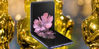 Samsung brings the Galaxy Z Flip to the world at Oscars 2020