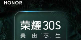 Honor 30S would be the first from Huawei to use the Kirin 820 chipset
