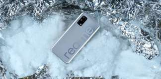 Realme V5's variants and colour options revealed through Chinese retail site listing.