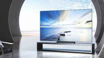 Xiaomi launches a 4K 65-inch OLED TV in China.