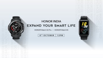 Honor Unveils the Honor Watch ES and Honor Watch GS Pro in India