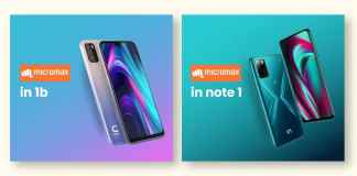 Micromax IN Note 1 and Micromax IN 1B Arrives India with Stock Android 10 and a 5,000mAh battery
