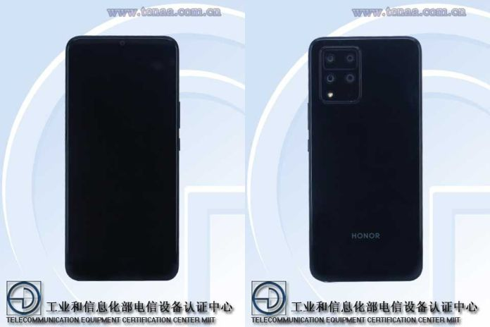 Images of an Honor Phone with Model Number HJC-AN00 / TN00 Appear on TEENA's Database