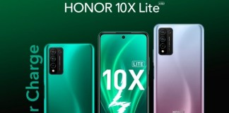 Honor X10 Lite with a 6.67-inch display and 48MP Quad-Camera Setup Launches in Saudi Arabia