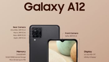 Samsung Confirms the Pricing of the Galaxy A12 Smartphone for Multiple Markets