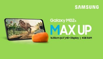 Samsung Officially Launches the Galaxy M02s Budget Smartphone in India