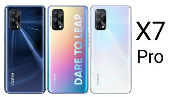 Landing Page for the Realme X7 and X7 Pro goes Live on Amazon India