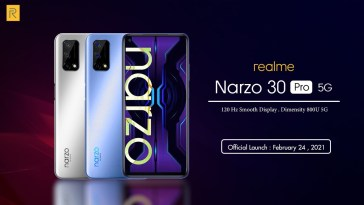 Realme India CEO Officially Unveils the Realme Narzo 30 Pro 5G Smartphone