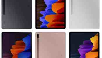 Samsung Galaxy Tab S7 Lite proposed colours allegedly leak
